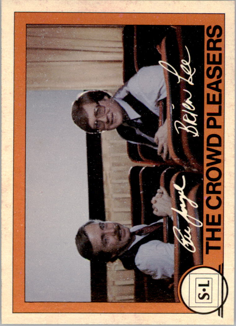 1982 Big Shew Complete Series #4 The Crowd Pleasers