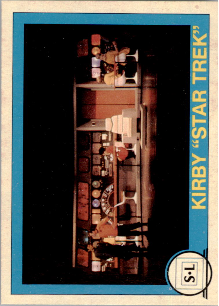 1982 Big Shew Complete Series #8 Kirby Star Trek
