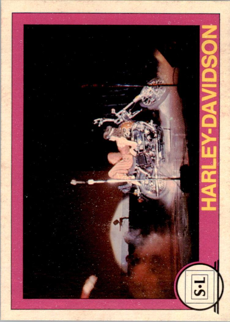 1982 Big Shew Complete Series #10 Harley-Davidson