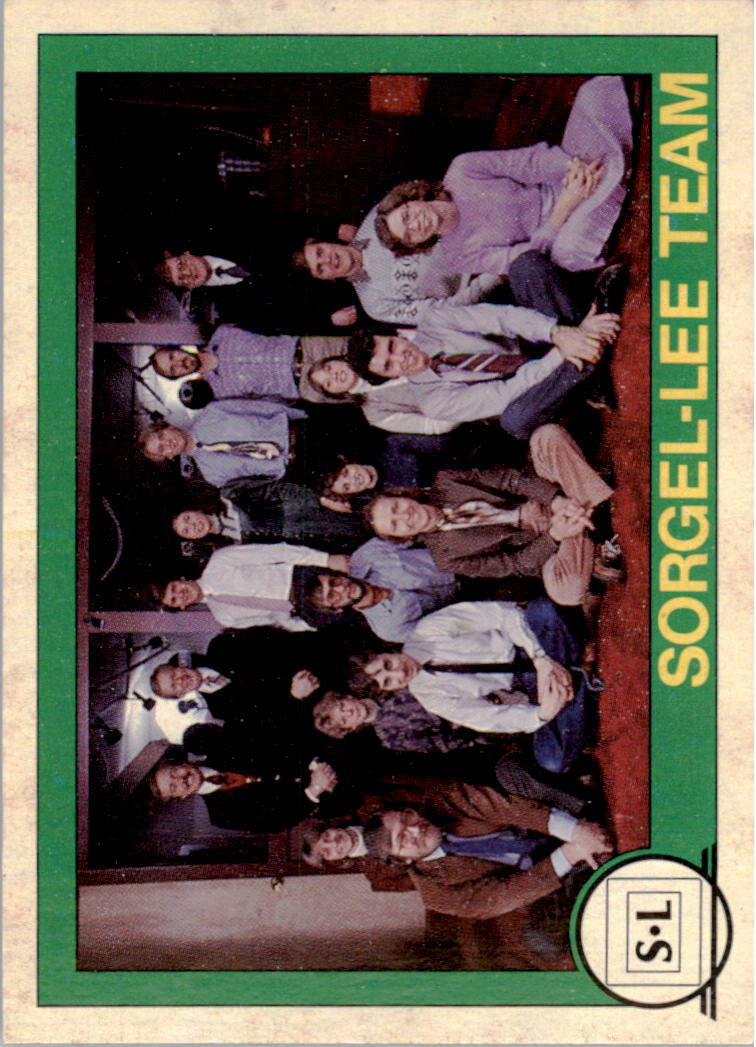 1982 Big Shew Complete Series #12 Sorgel-Lee Team