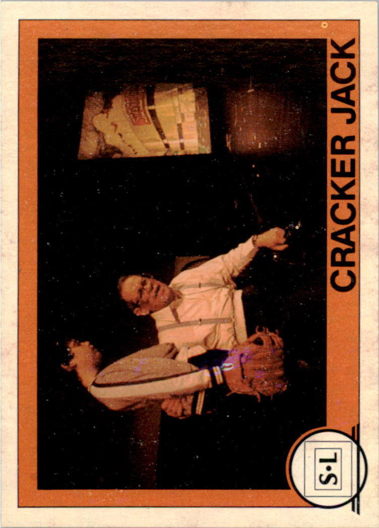 1982 Big Shew Complete Series #17 Cracker Jack