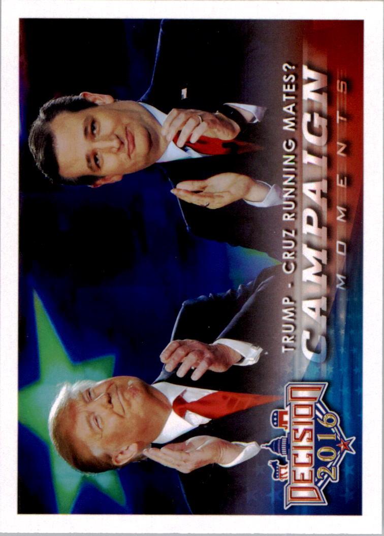 2016 Decision 2016 #93 Trump - Cruz Running mates?