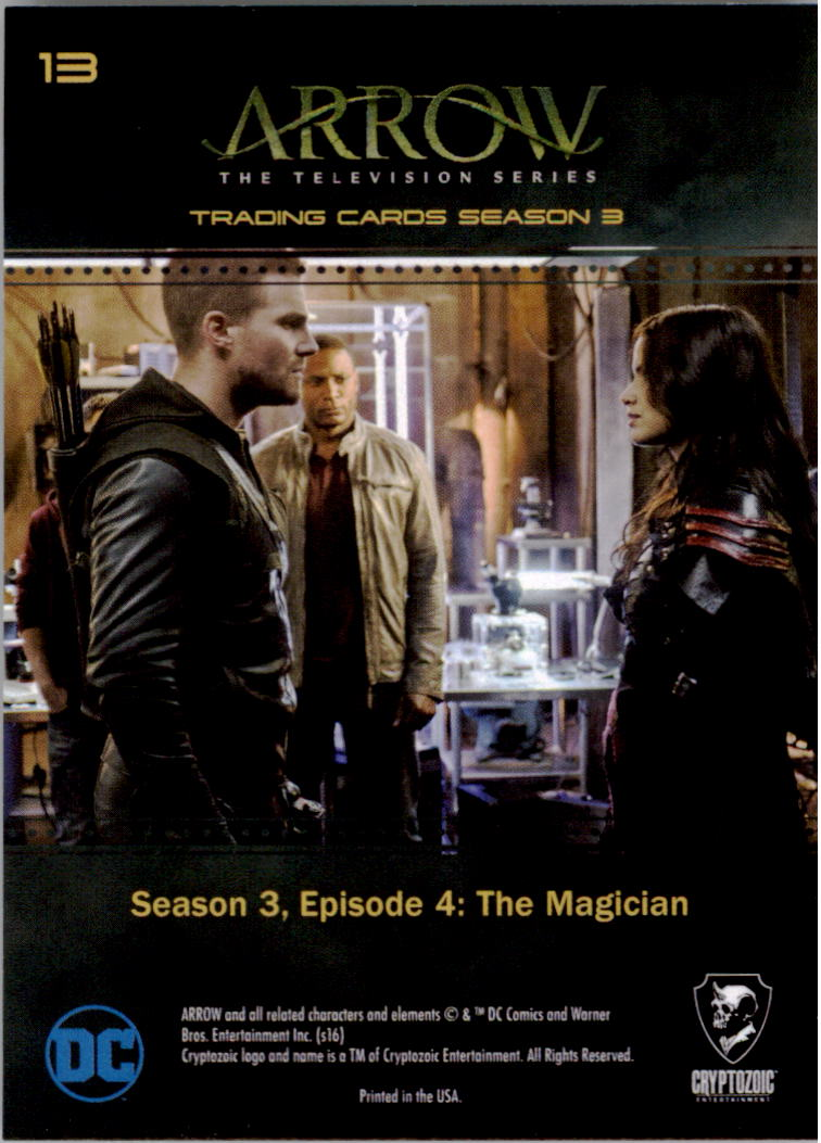 Arrow Season 4 Foil Parallel Base Card #69
