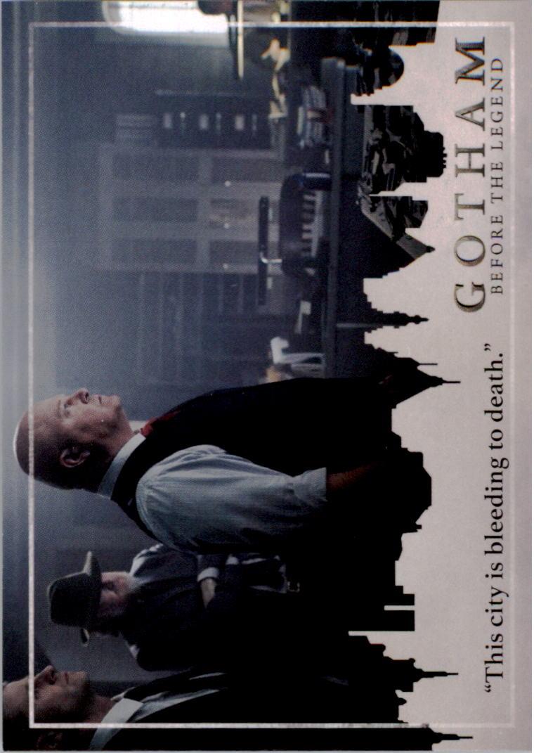 2017 Gotham Season Two #16 This city is bleeding to death.