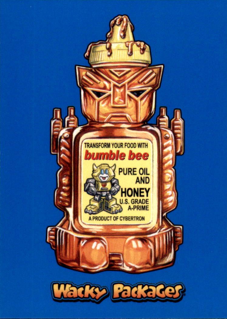 2018 Wacky Packages Go to the Movies Blue #ACT18 Bumble Bee