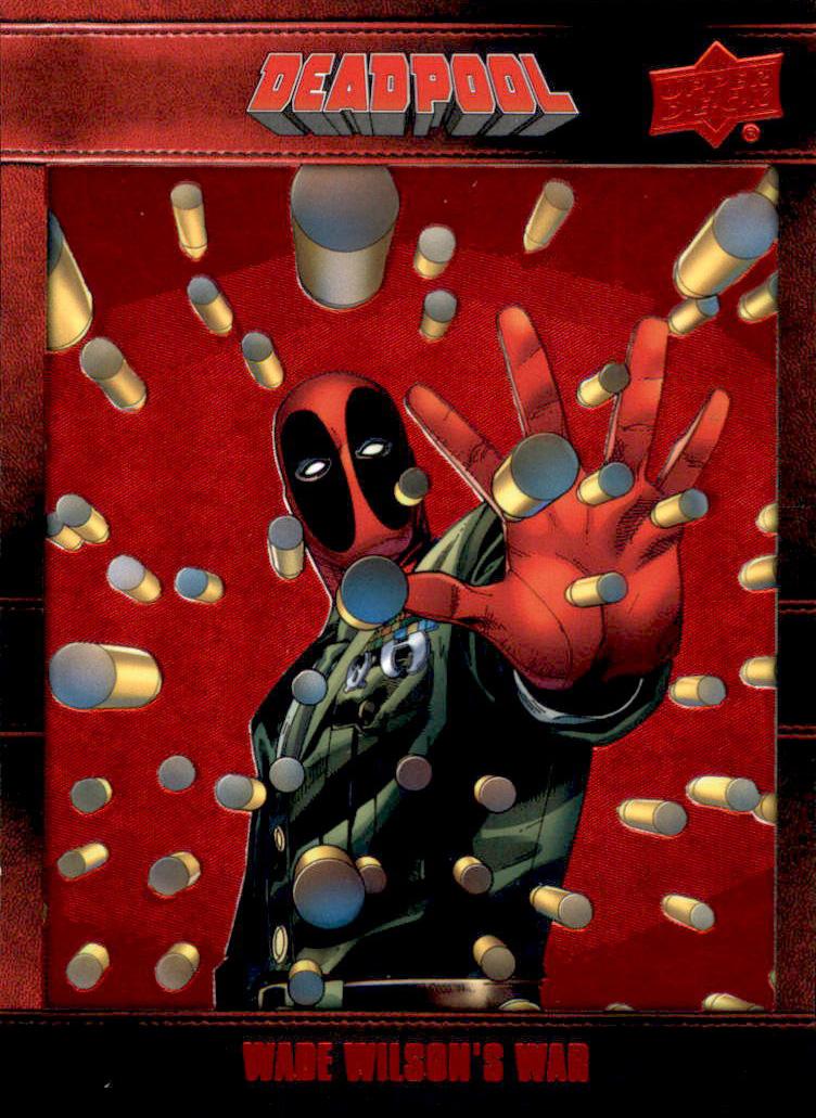 2019 Upper Deck Marvel Deadpool Base Card #64 Hero