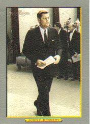 2005 Topps Turkey Red #288 John F. Kennedy