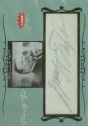 2004 Greats of the Game Personality Cuts #WT William Taft S1/1