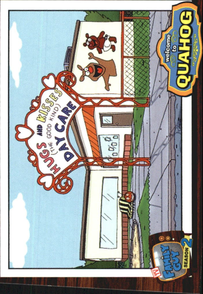 2006 Family Guy Season Two #18 Hugs And Kisses Day Care - NM-MT