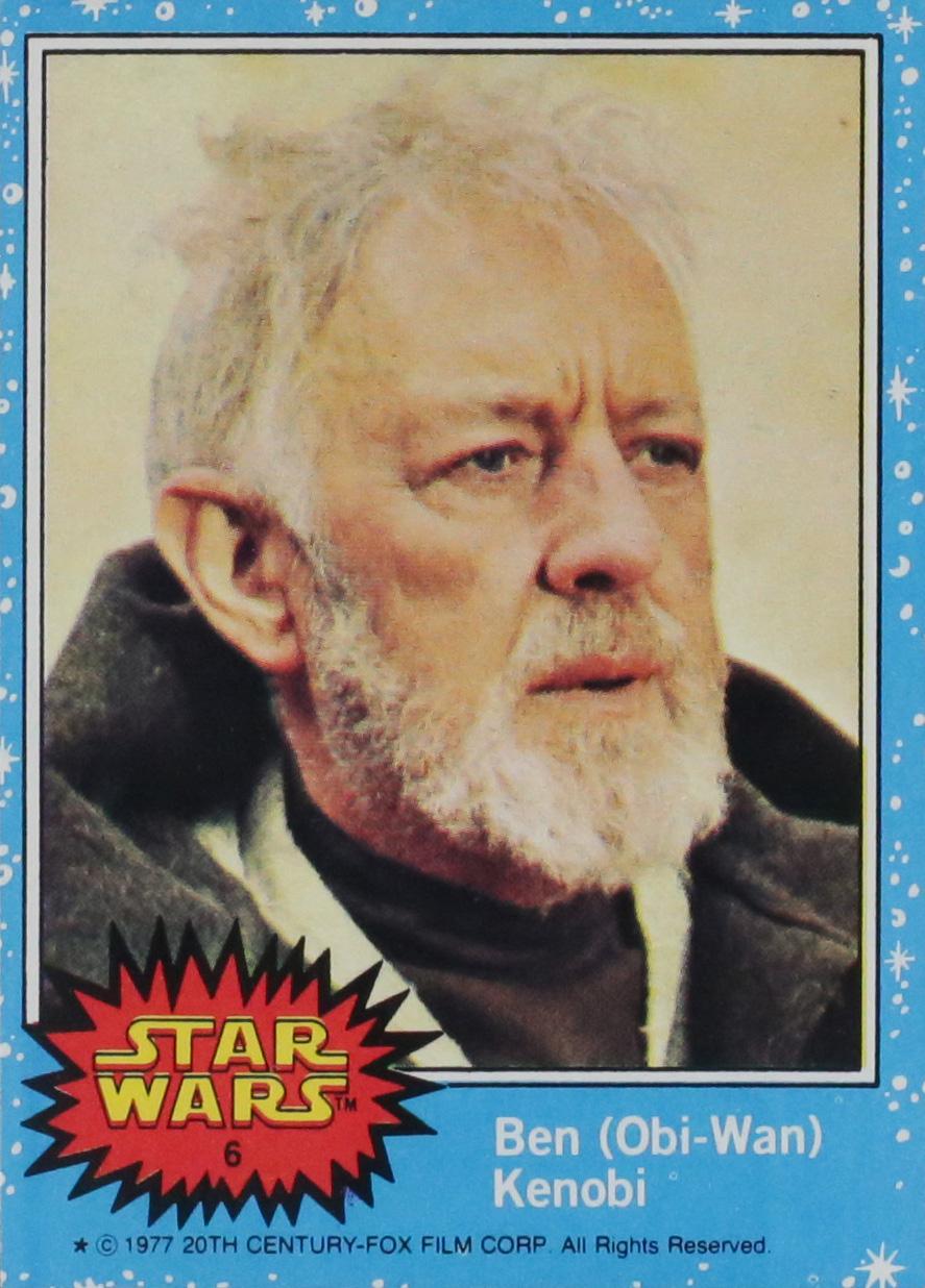 1977 Star Wars #6 Ben Kenobi