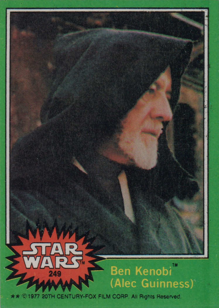 1977 Star Wars #249 Ben Kenobi