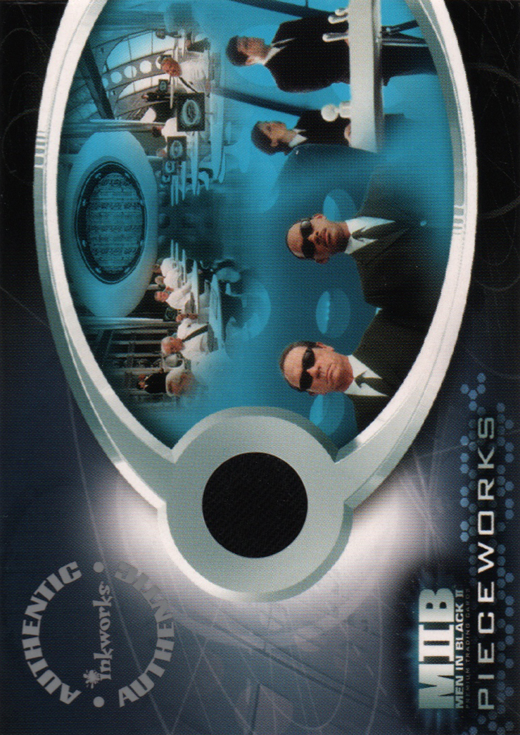 2002 Men in Black II Pieceworks #PW1  MIB Agents