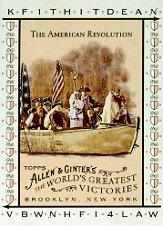 2008 Topps Allen and Ginter World's Greatest Victories #WGV14 The American Revolution