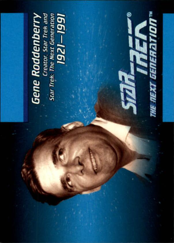 1992 Star Trek The Next Generation #3 Gene Roddenberry