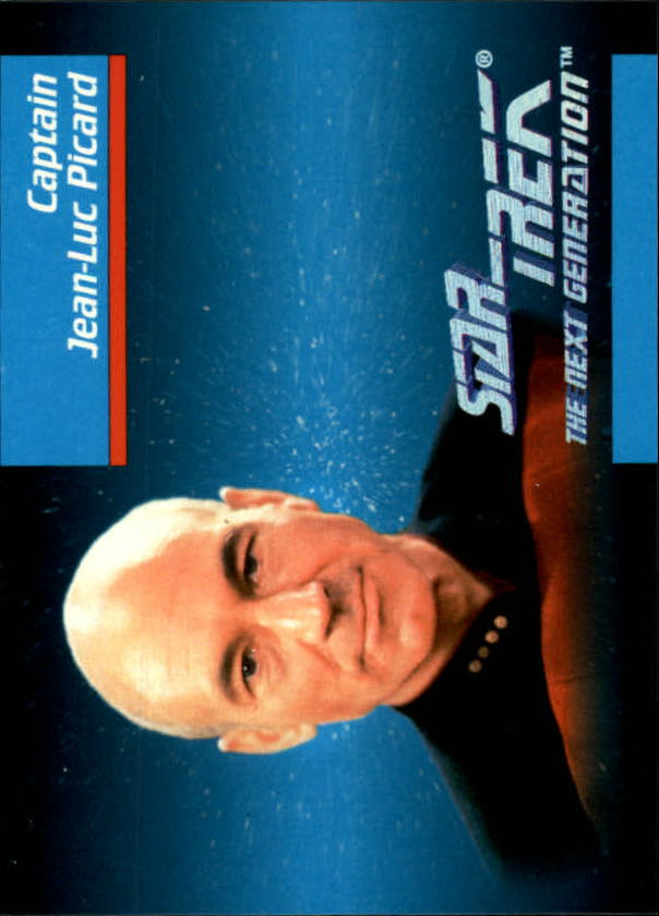 1992 Star Trek The Next Generation #4 Jean-Luc Picard