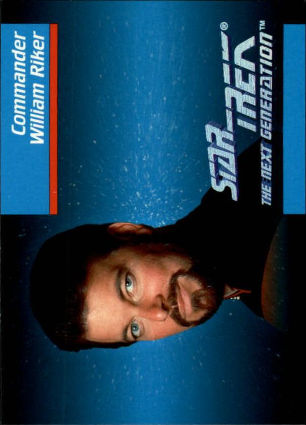 1992 Star Trek The Next Generation #5 William Riker