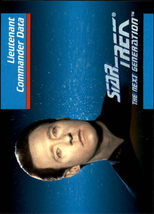 1992 Star Trek The Next Generation #6 Data