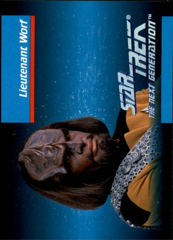 1992 Star Trek The Next Generation #7 Worf