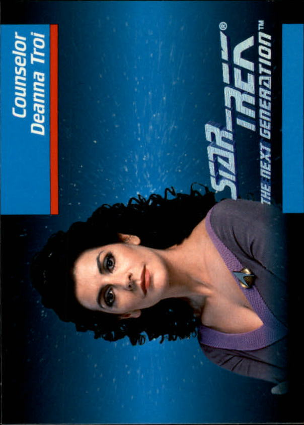 1992 Star Trek The Next Generation #9 Deanna Troi
