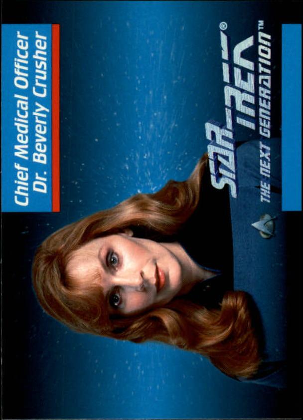 1992 Star Trek The Next Generation #10 Beverly Crusher