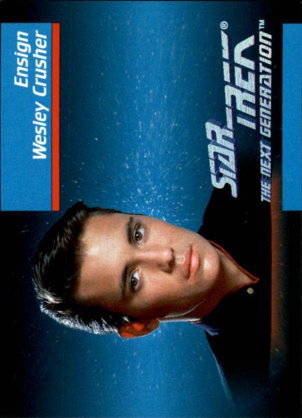 1992 Star Trek The Next Generation #12 Wesley Crusher