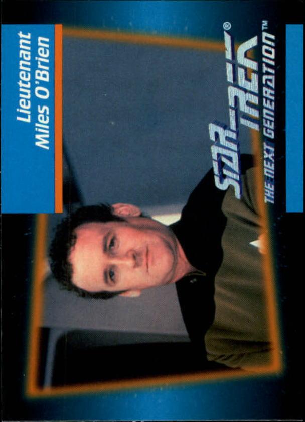 1992 Star Trek The Next Generation #13 Miles O'Brien