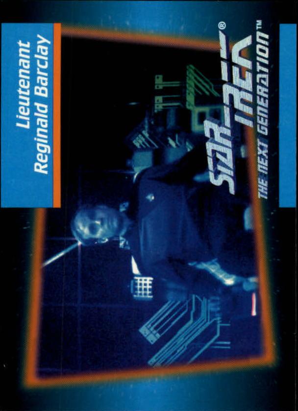1992 Star Trek The Next Generation #15 Reginald Barclay