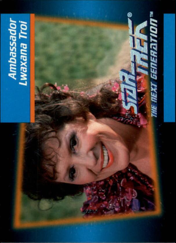 1992 Star Trek The Next Generation #17 Lwaxana Troi