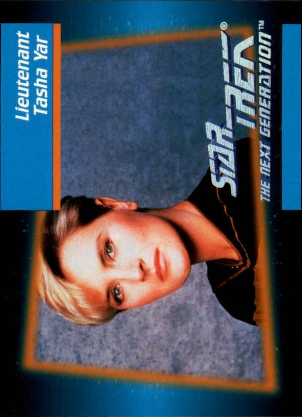 1992 Star Trek The Next Generation #18 Tasha Yar
