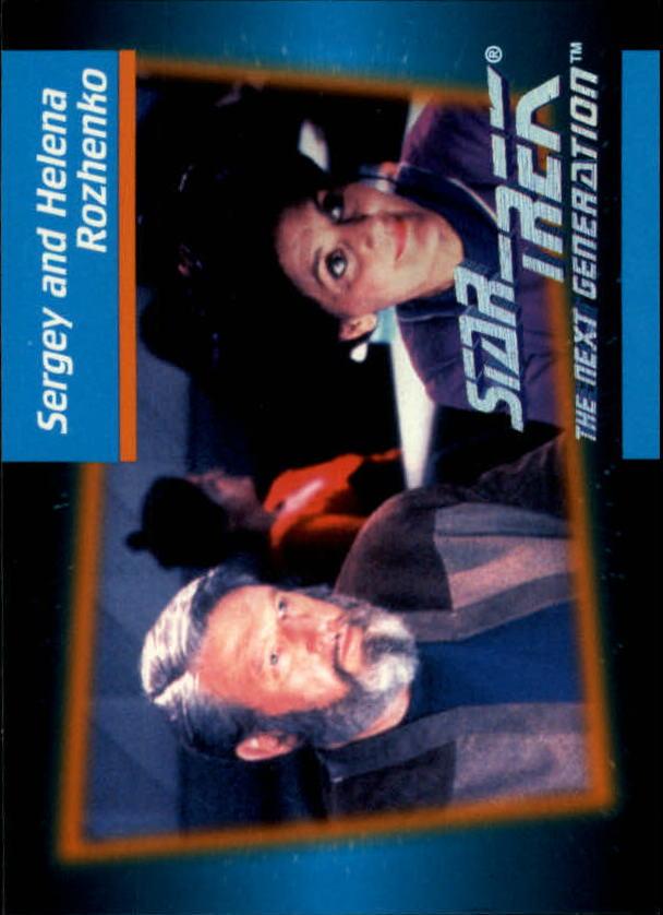 1992 Star Trek The Next Generation #19 Sergey and Helena Rozhenko