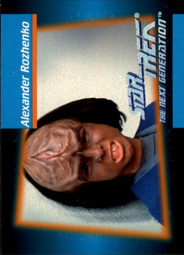 1992 Star Trek The Next Generation #20 Alexander Rozhenko