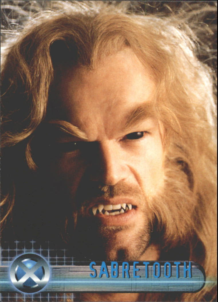 2000 X-Men Movie #7 Sabretooth