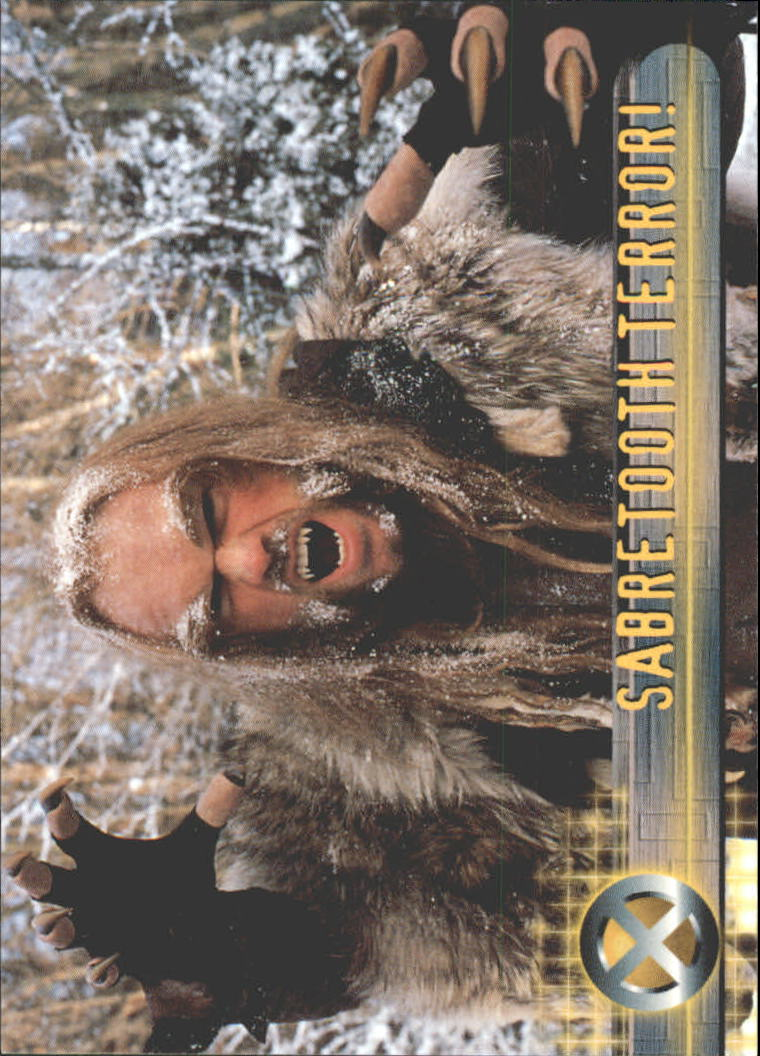 2000 X-Men Movie #22 Sabretooth Terror