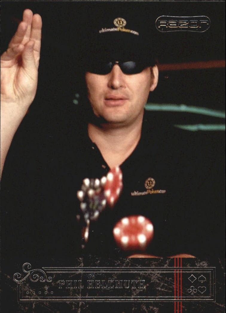 2006 Razor Poker #11 Phil Hellmuth