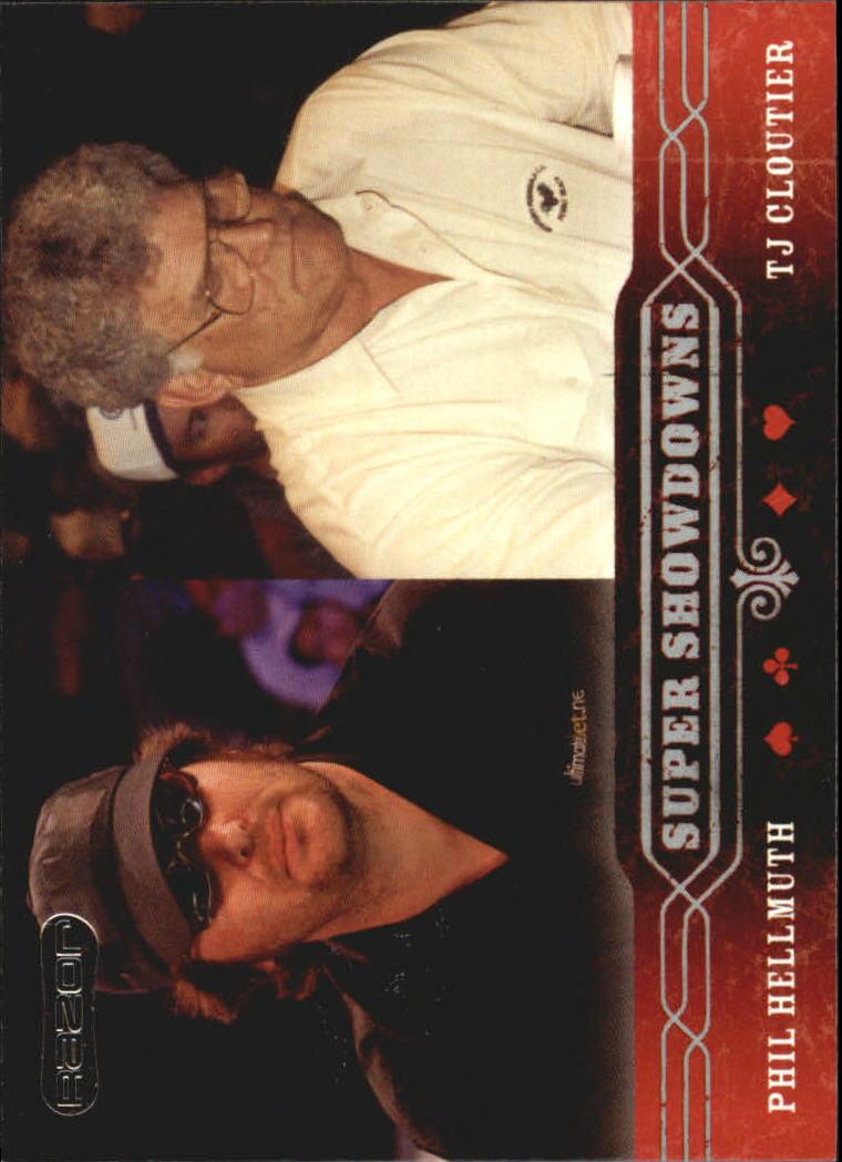 2006 Razor Poker #47 Phil Hellmuth/T.J. Cloutier