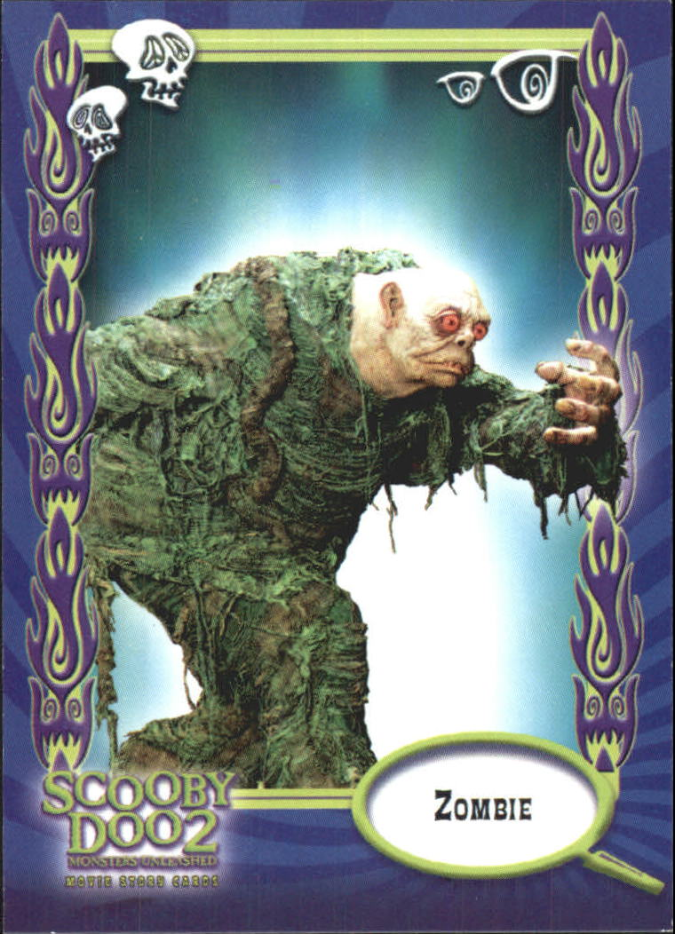 2004 Scooby Doo 2 Monsters Unleashed Non Sport Card 17 Zombie Ebay