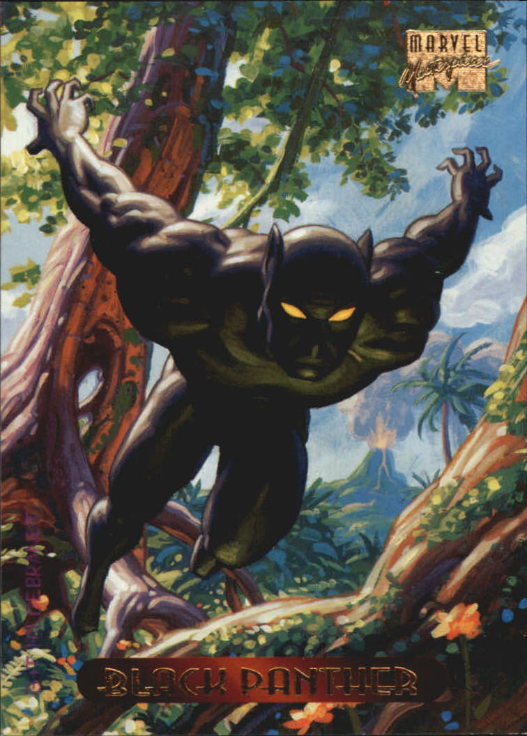 1994 Marvel Masterpieces #8 Black Panther