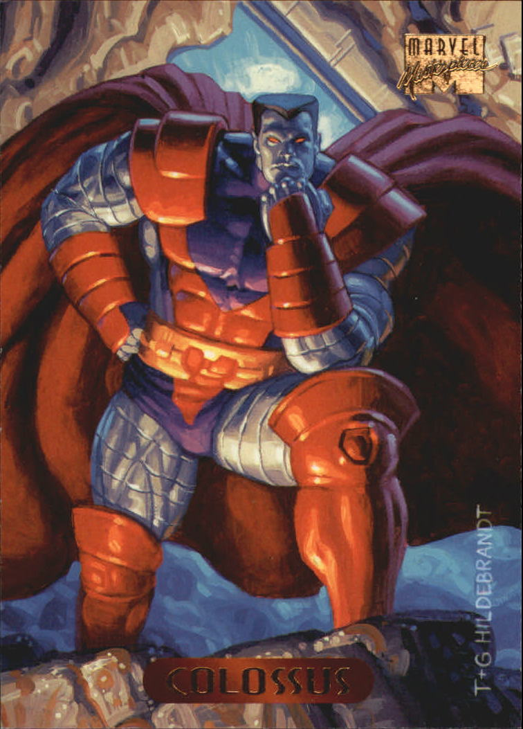 1994 Marvel Masterpieces #24 Colossus