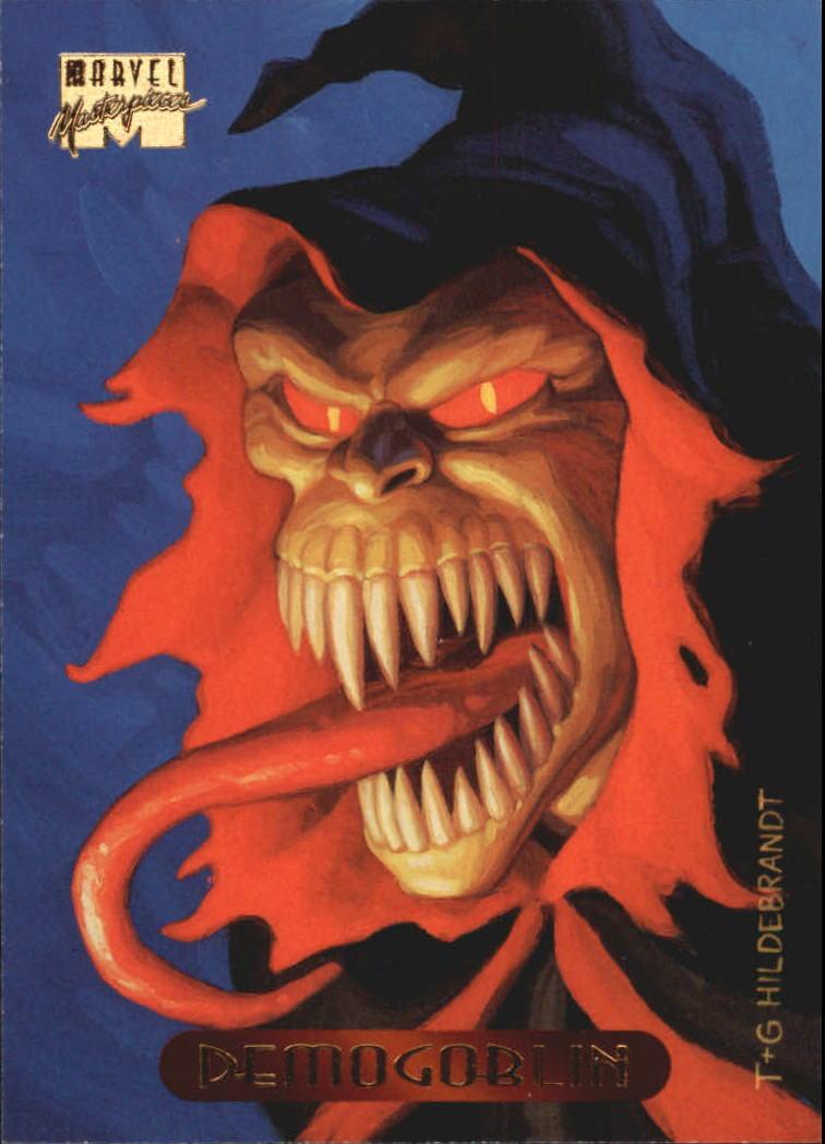 1994 Marvel Masterpieces #30 Demogoblin