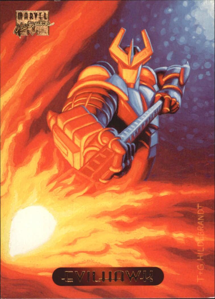 1994 Marvel Masterpieces #35 Evilhawk