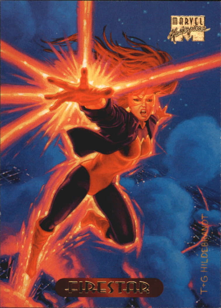 1994 Marvel Masterpieces #38 Firestar