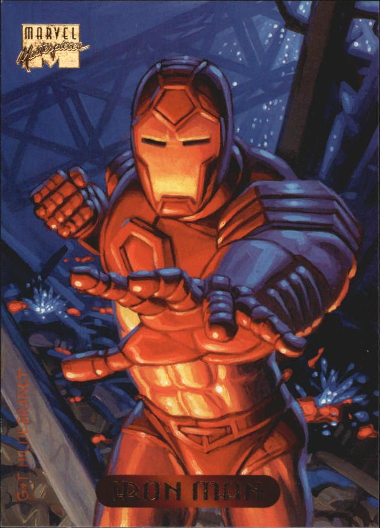 1994 Marvel Masterpieces #56 Iron Man
