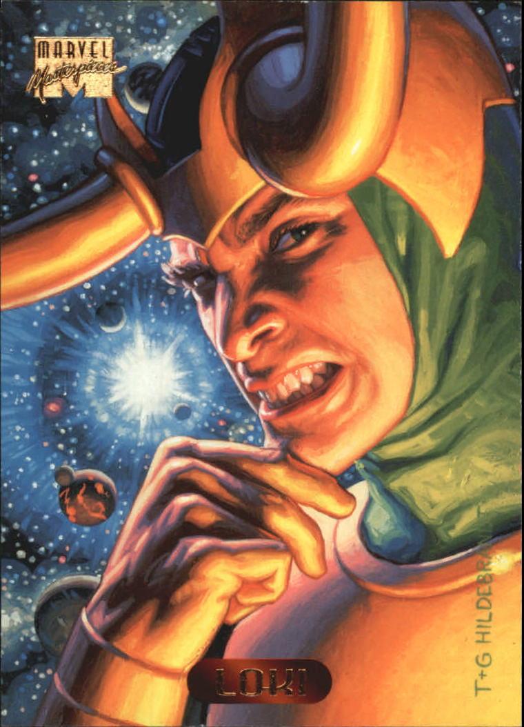 1994 Marvel Masterpieces #68 Loki