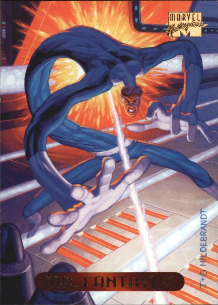 1994 Marvel Masterpieces #76 Mr. Fantastic