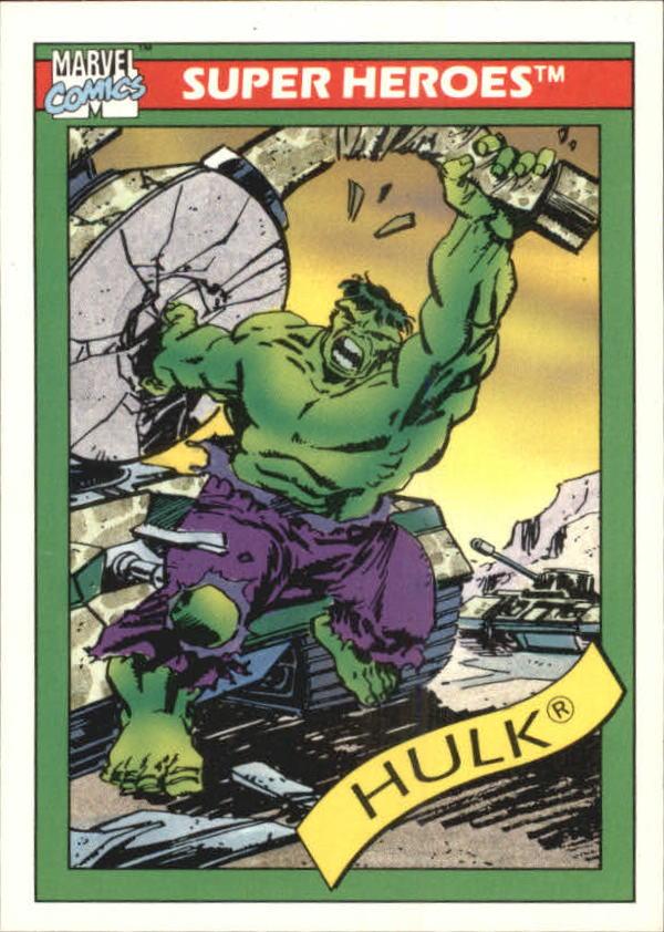 1990 Marvel Universe I #3 Hulk