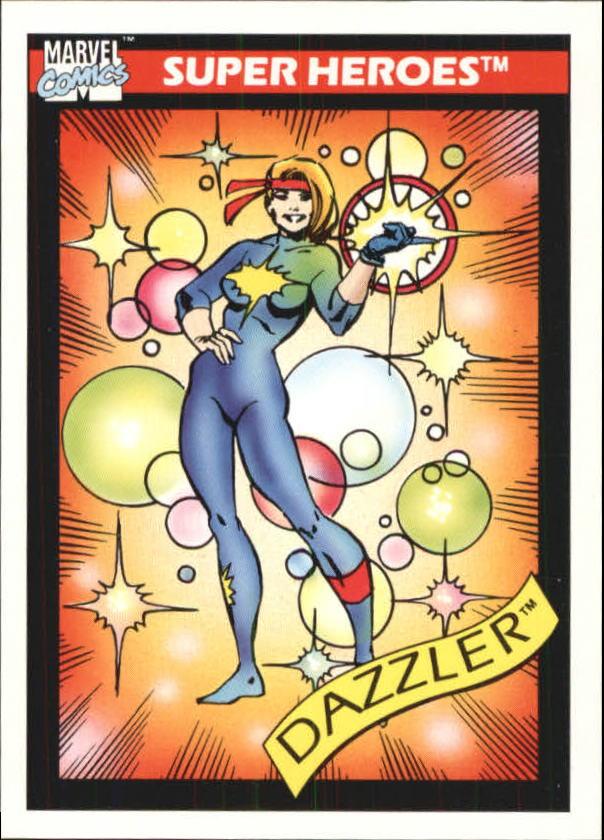 1990 Marvel Universe I #13 Dazzler
