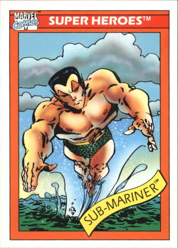 1990 Marvel Universe I #16 Sub-Mariner