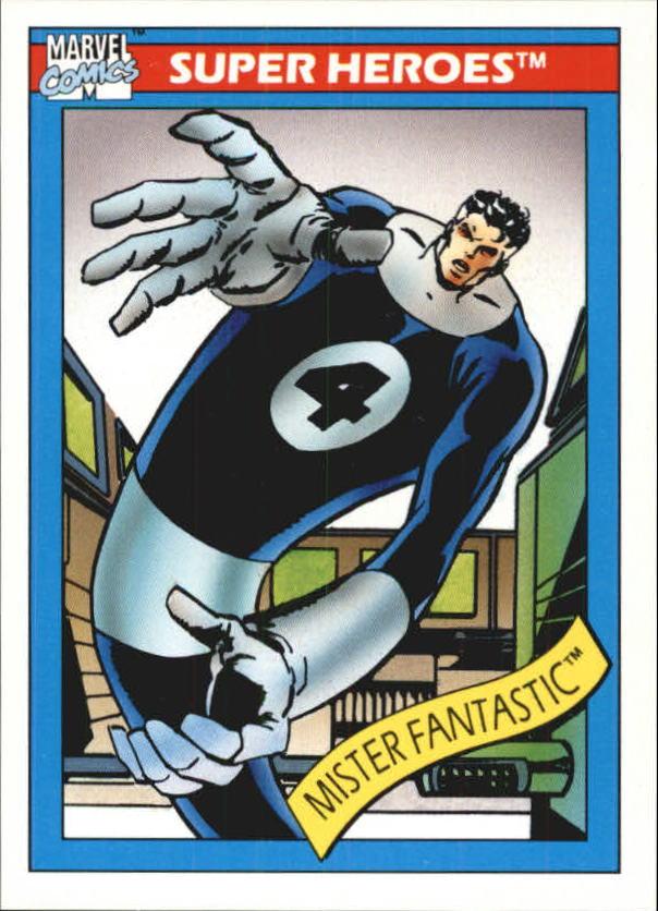 1990 Marvel Universe I #19 Mister Fantastic