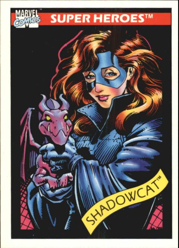 1990 Marvel Universe I #25 Shadowcat