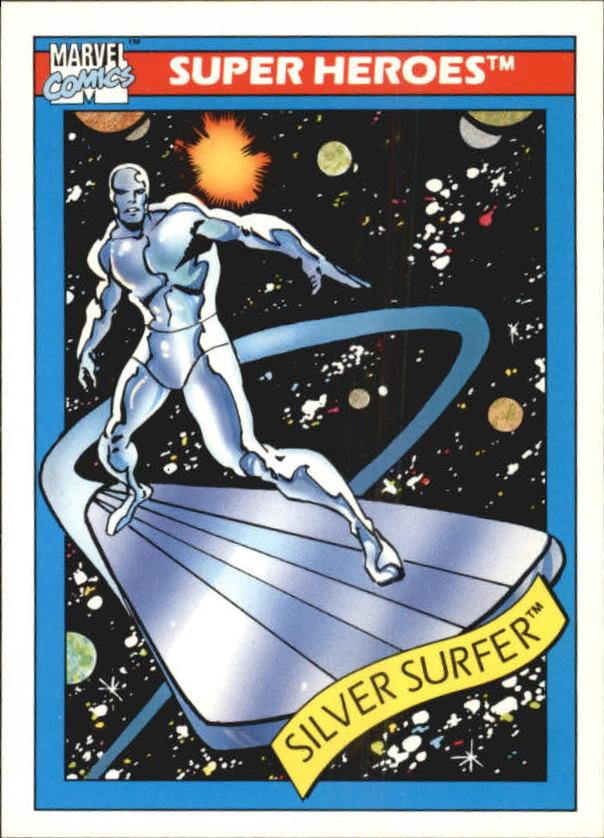 1990 Marvel Universe I #32 Silver Surfer